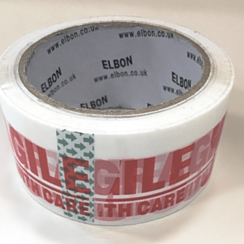 Fragile Printed Packing Tape - 48mm x 150 metres (40 Micron)