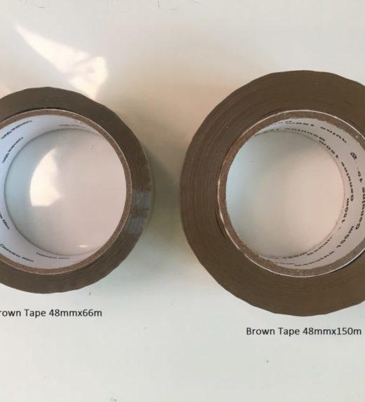 Brown Tape 66/150m