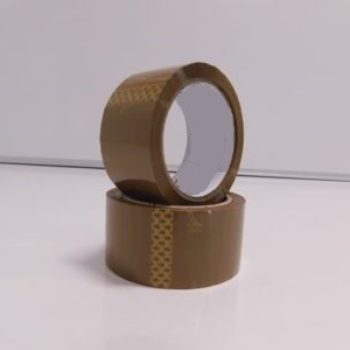 12 Rolls Brown Buff Packing Tape 48mm x 66m (40 Micron)