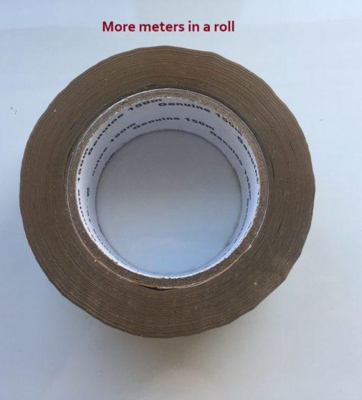 Brown packing Tape 150m