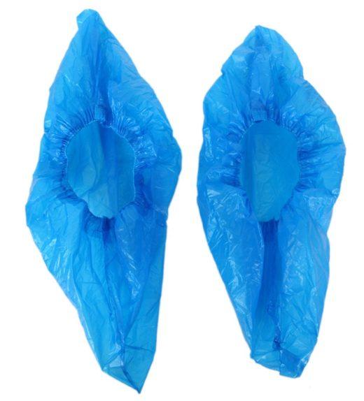 Blue Shoe Covers pair