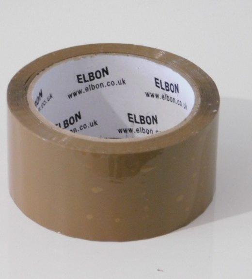 Brown Buff Tape 66m