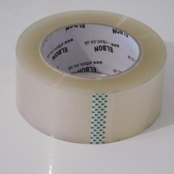Extra Long Clear Packing Parcel Tape - 48mm x 150 metres