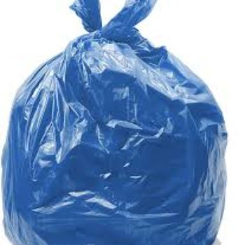 200 Bags Coloured Waste Bags, Refuse Sacks - 90L