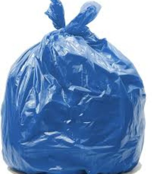 Blue waste Bags