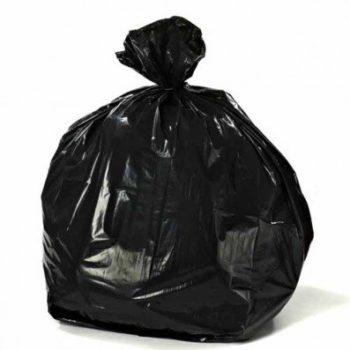 Heavy Duty Black Bags, Refuse Sacks - 15kg
