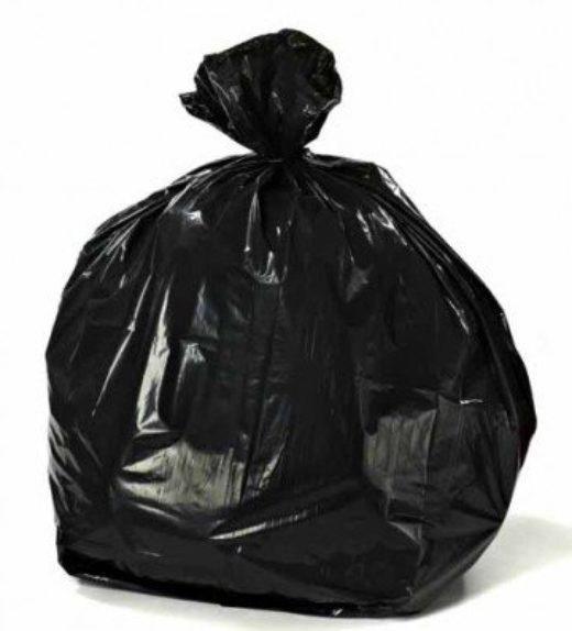 Black refuse sacks light duty