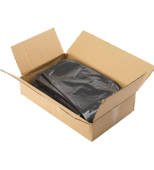 Black refuse sacks case