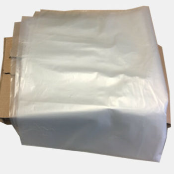 Clear Waste Bags, Refuse Sacks - 90L