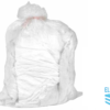 Clear soluble strip laundry bags