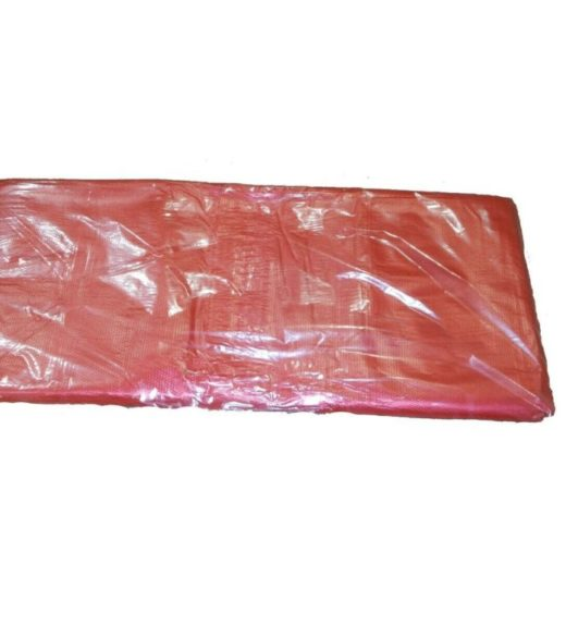 Red soluble strip laundry sacks - pack