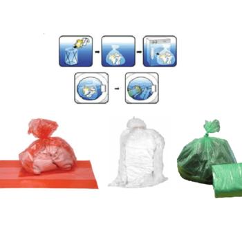 Soluble Strip Laundry Bags, Dissolvable Washing Sacks