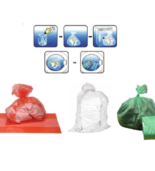 soluble strip laundry sacks