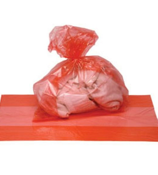 Fully soluble laundry bags