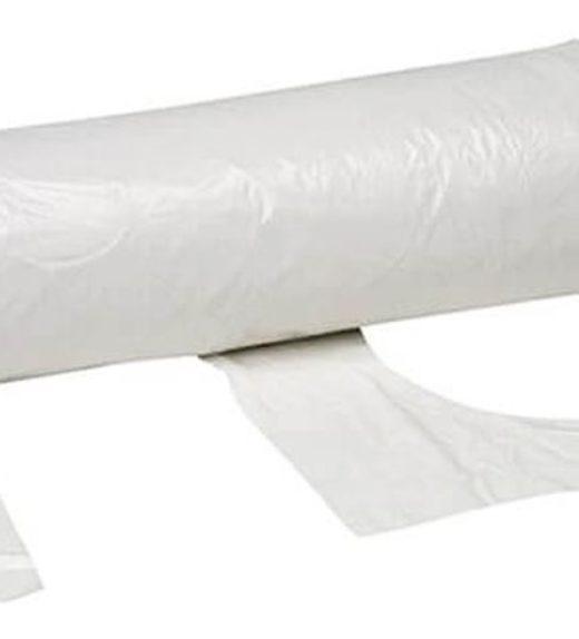 White Plastic Aprons Roll