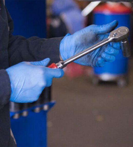 Nitrile Gloves mechanics