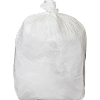 Medium Duty White Square Bin Liners 30L Waste Bags