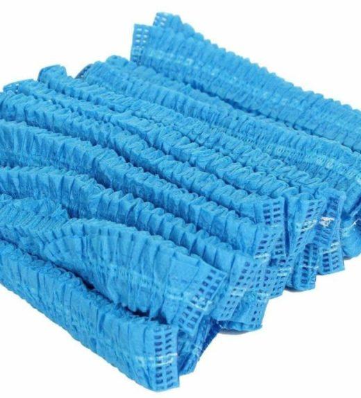 Blue Hair net mob caps