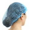 Blue Hair net mob cap