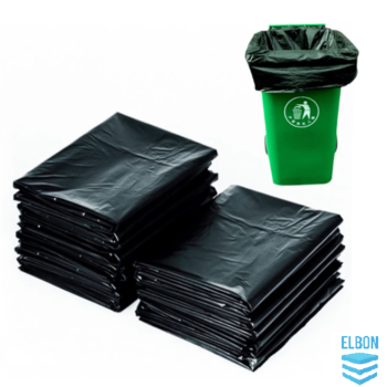 Black Wheelie Bin Liners Strong Rubbish Sacks Wheelie Bags