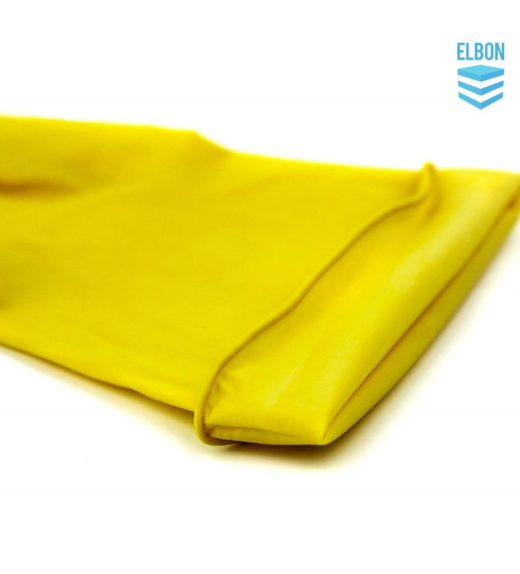 Yellow household gloves extra comfort